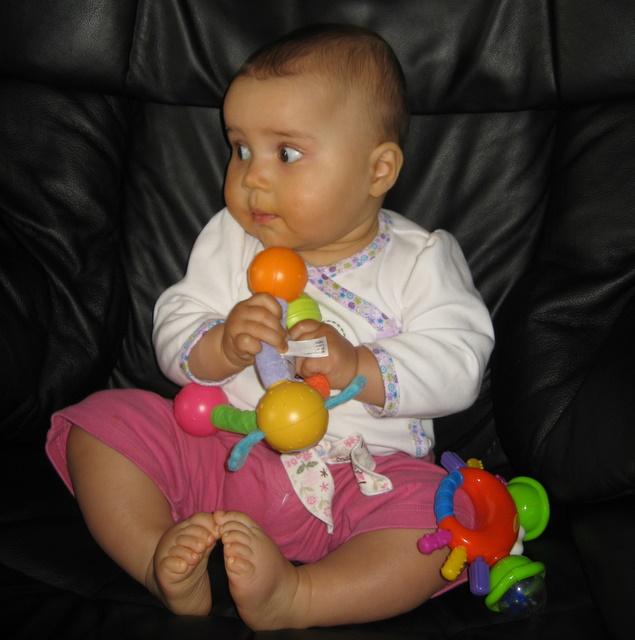 Ari at 8 months
