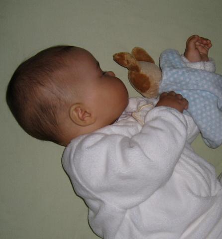 Ari sleeping