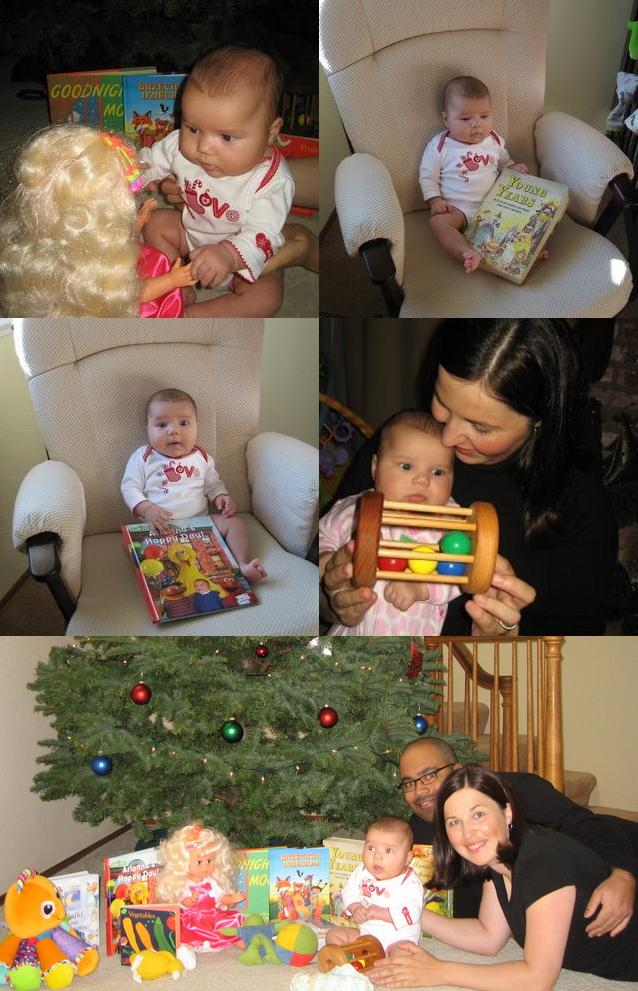 PHOTO SUMMARY - Ari Christmas gifts