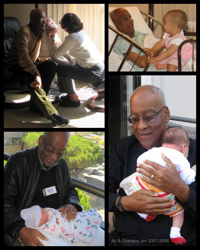Ari & Grandpa Jim