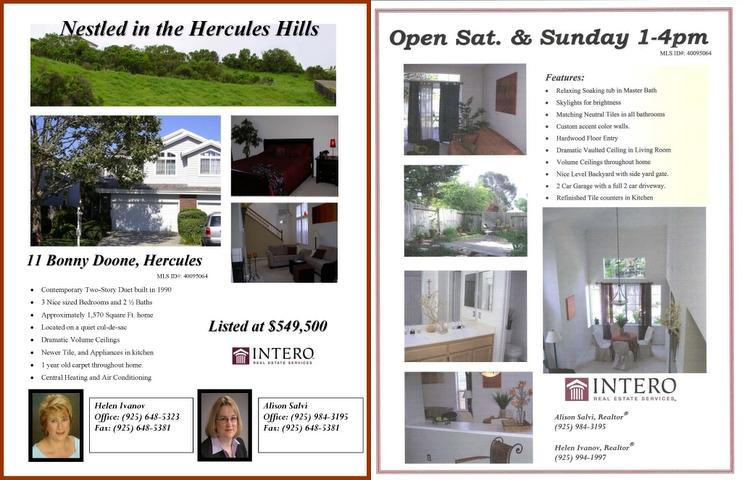 house for sale flyer