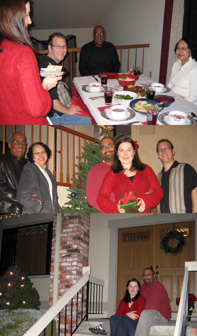PHOTO SUMMARY: Christmas Eve Dinner 2005