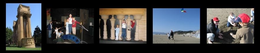 PHOTO SUMMARY: Exploratorium and beach