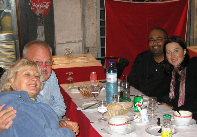 Anniversary dinner in Lisbon