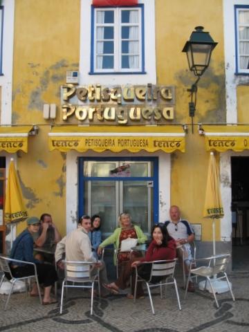 Aveiro church cafe