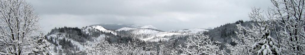 HORIZONTAL SLICE: Tahoe Winter Vista