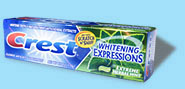 Crest Extreme Herbal Mint toothpaste
